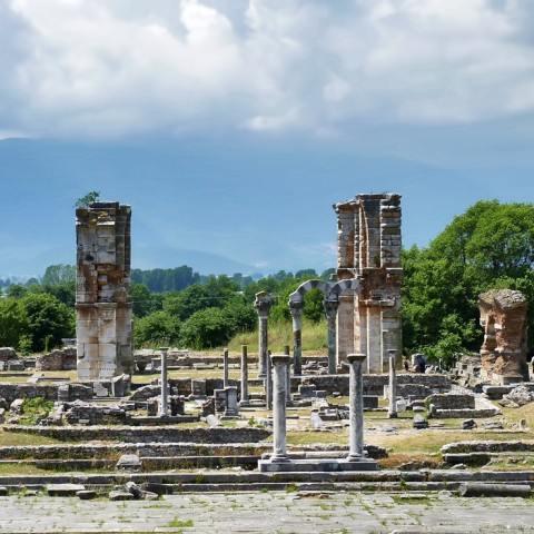 TLT Kavala ruins Filipoi