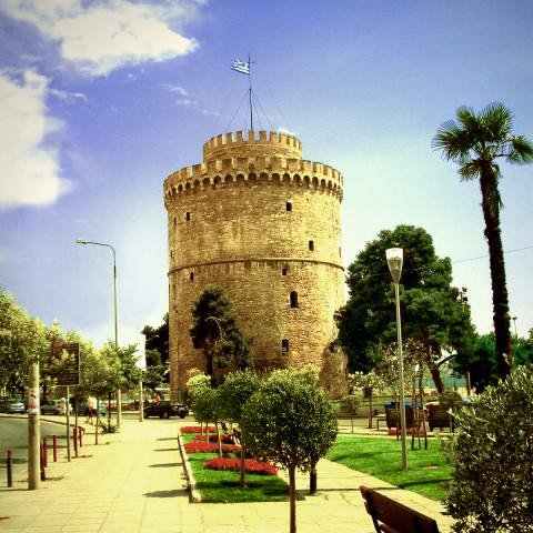 Thessaloniki-White-tower-Greece