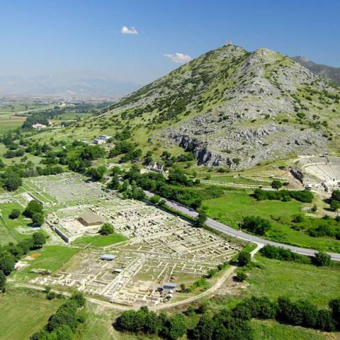 TLT Kavala ruins Phillipoi