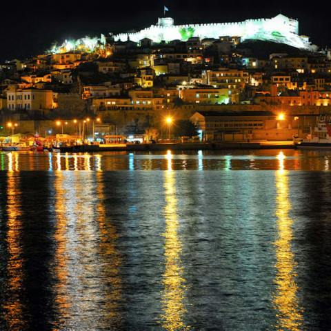 TLT Kavala by night